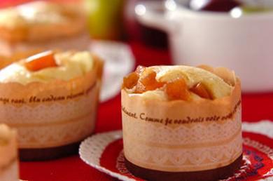 Рецепт Паровые булочки с яблоками и сыром