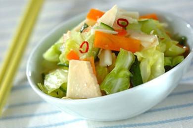 Рецепт Маринованные овощи под кисло-сладким соусом