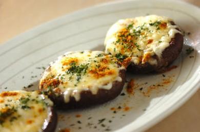 Рецепт Жареные шиитаке под сырным соусом
