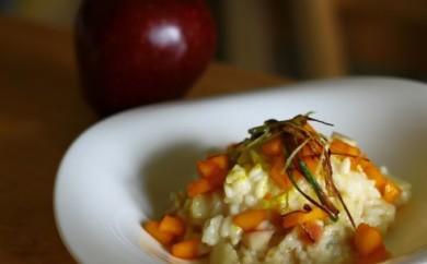 Рецепт Ризотто с яблоками и горгондзолой