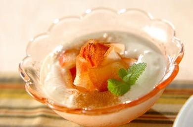 Рецепт Йогурт с яблоками