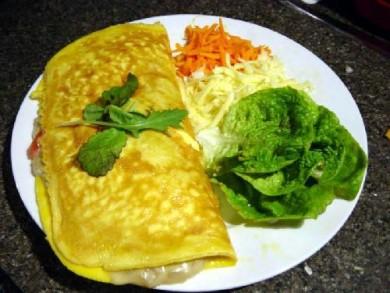 Рецепт Омлет с грибами, томатами и сыром