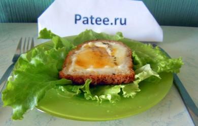 Рецепт Французская яичница с соком мандарина