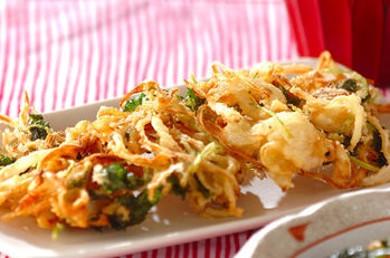 Рецепт Какиаге с овощами и имбирем
