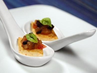 Рецепт Жаренное тофу с оливковой приправой Каламата