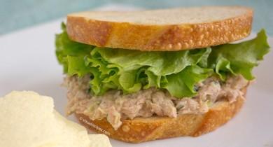 "Рецепт Бутерброд ""Салат с тунцом"""