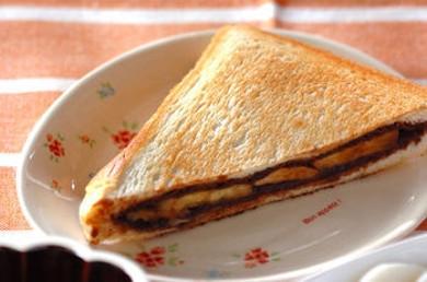 Рецепт Шоколадный сэндвич с бананом