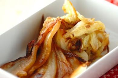 Рецепт Китайская капуста жареная с чесноком
