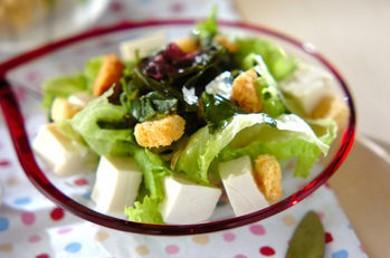 Рецепт Салат из тофу с базиликом