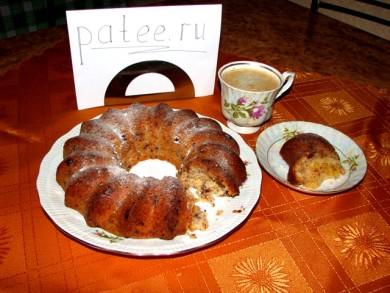 Рецепт Шоколадный кекс с апельсинами