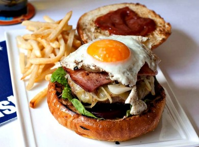 Рецепт Австралийский бургер