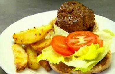Рецепт Бургеры с картофелем и свеклой