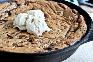 Рецепт Шоколадное печенье на сковороде