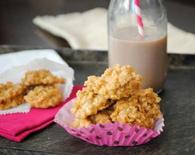 Рецепт Карамельное овсяное печенье
