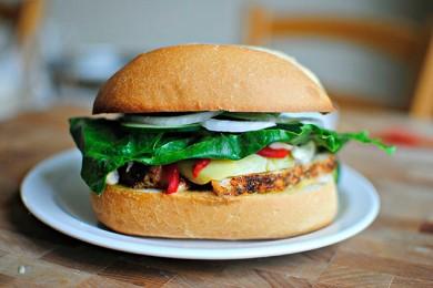 Рецепт Средиземноморский сэндвич