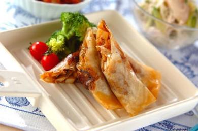 Рецепт Весенние роллы с грибами шиитаке
