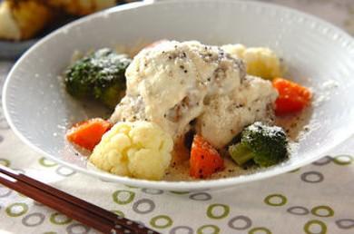 Рецепт Сливочный салат с мясными шариками