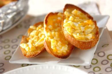 Рецепт Тосты с яйцом