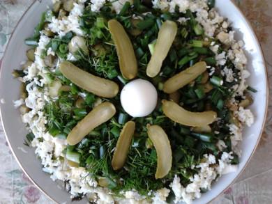 Рецепт Салат с говяжьим языком