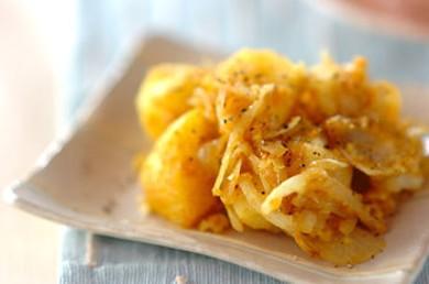 Рецепт Жареный картофель карри