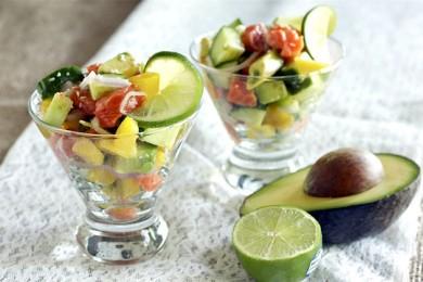 Рецепт Лососевый салат