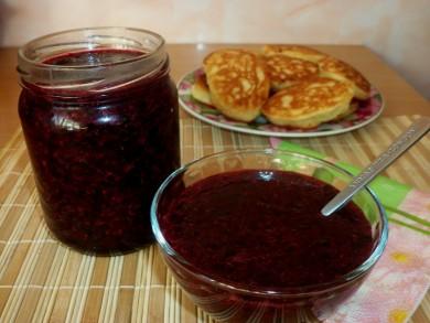 Рецепт Смородина протертая с сахаром