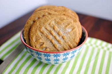 Рецепт Домашнее печенье с арахисовым маслом