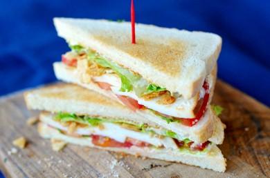 Рецепт Вегетарианские сандвичи