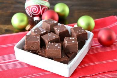 Рецепт Шоколадный ирис с морской солью