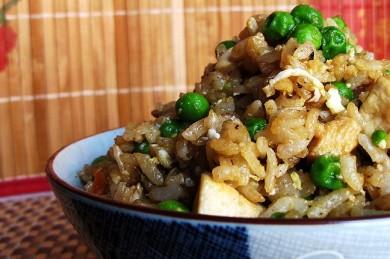 Рецепт Японский жареный рис