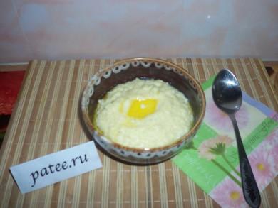 Рецепт Пшенная каша на молоке