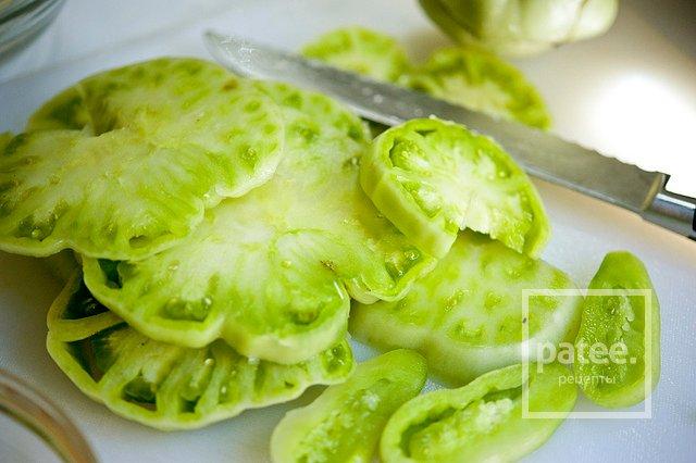 Жареные зеленые помидоры рецепты