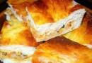 Мясной торт с кабачком