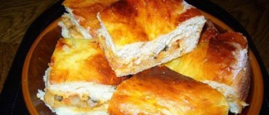 Рецепт Мясной торт с кабачком