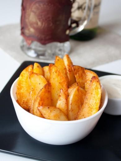 Рецепт Острые картофельные дольки к пиву