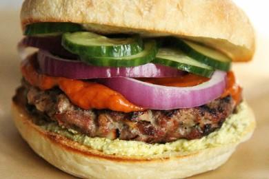 Рецепт Бургеры с бараниной