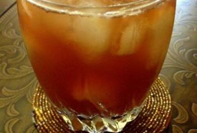 Рецепт Зеленый чай с персиком