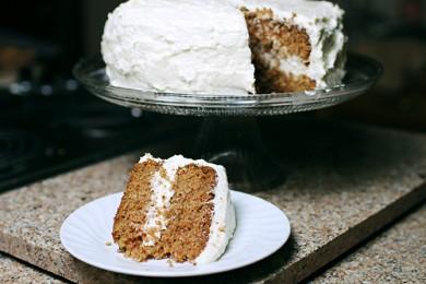 Рецепт Гавайский морковный торт