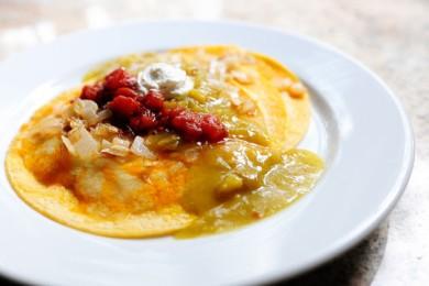 Рецепт Энчиладас с зеленым соусом