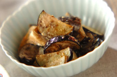 Рецепт Острая закуска из баклажанов с грибами