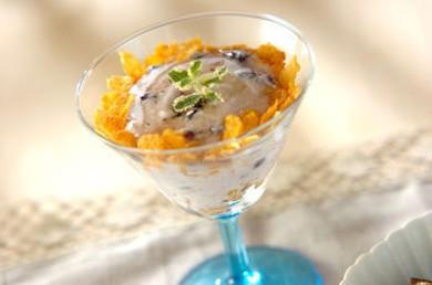 Рецепт Парфе из черники с йогуртом