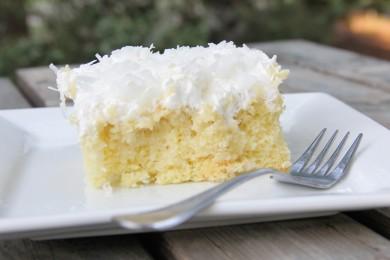 Рецепт Сливочно-кокосовый пирог