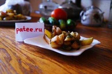 Рецепт Молодой картофель, запеченный с травами