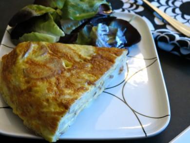 Рецепт Испанская тортилья ( омлет по-испански)
