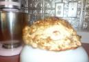 Клубнично-яблочный мини-пирог с хрустящей корочкой
