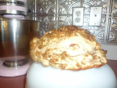 Рецепт Клубнично-яблочный мини-пирог с хрустящей корочкой
