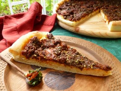 Рецепт Пицца с острыми колбасками
