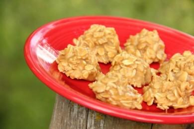 Рецепт Карамельные печенья, не требующие выпечки