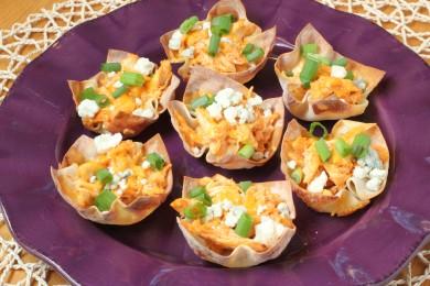 Рецепт Закуска куриные чашечки