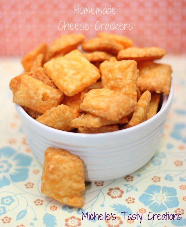 Сырные крекеры в домашних условиях